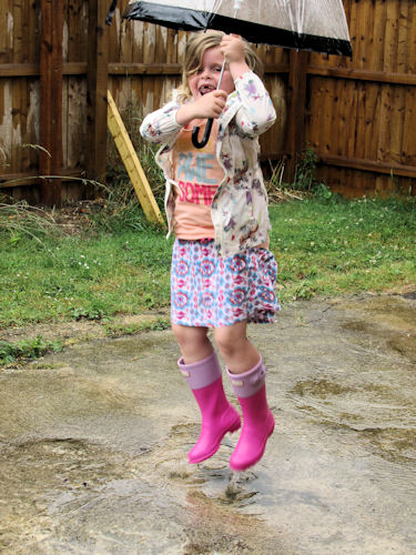 British Summertime Wellies & Mac With House of Fraser