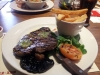 10oz Rump Steak Plain Chips
