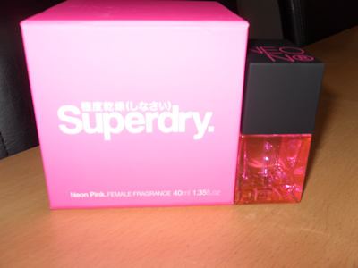 Superdry Neon Pink Perfume   Review