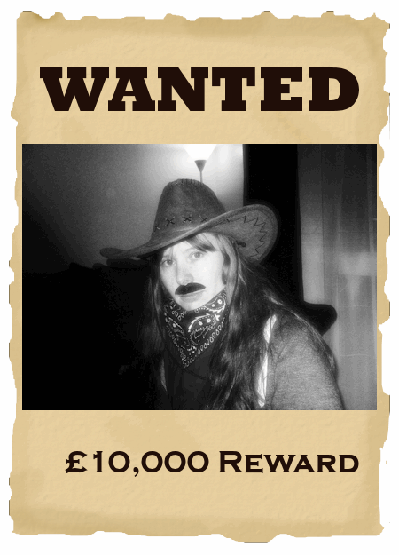 Wanted Wild West Party Night
