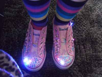 Sketchers Twinkle Toes Light Up Pump
