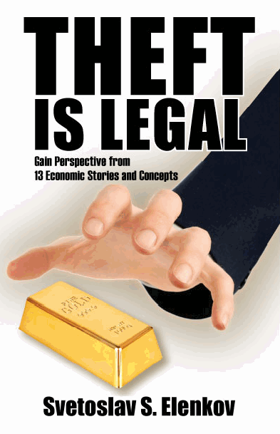 Theft Is Legal | Book Review | Giveaway