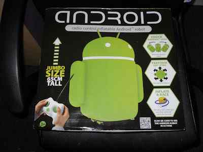 Radio control Inflatable Android Robot