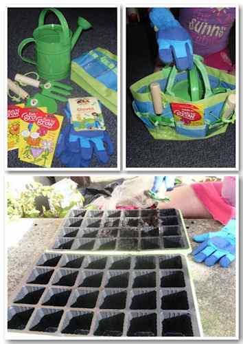 #KidsGrowWild Gardening