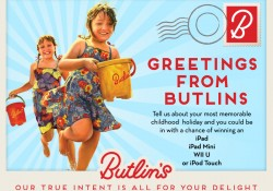 Butlins Blog Competition Digital Postcard