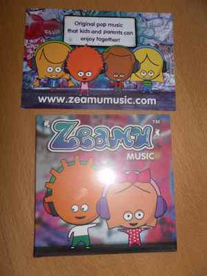 Zeamu Music CD