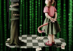 The Matrix and the Alice Books
