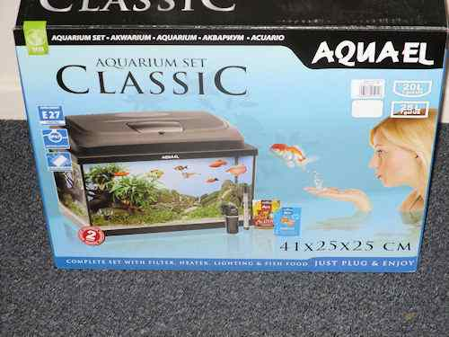 AquaEl Classic 40 Bow Aquarium Kit
