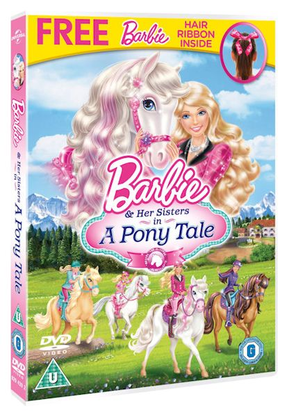 Barbie and Her Sisters in a Pony Tale DVD