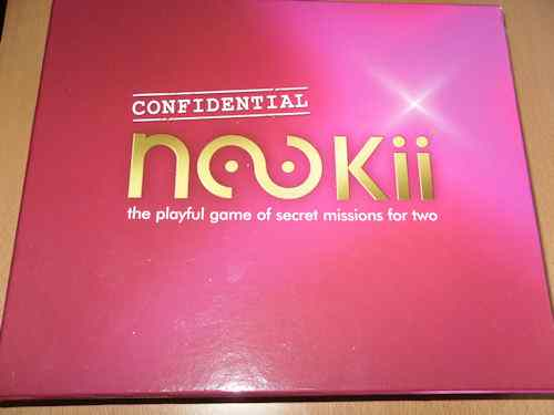 Nookii Confidential Board Game for Couples