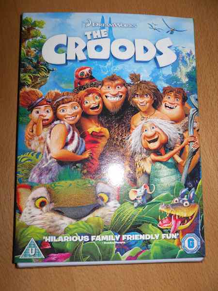 THE CROODS DVD Review