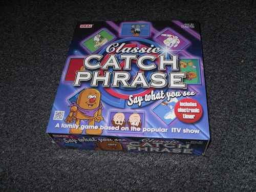 Classic Catchphrase Game