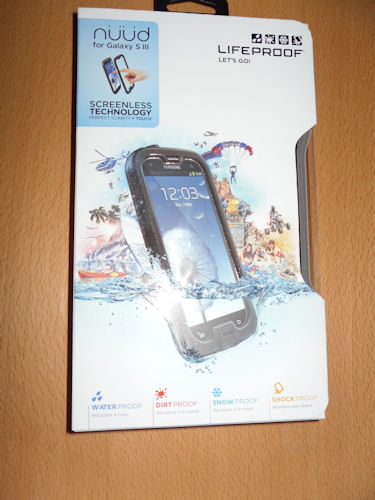 Lifeproof nÜÜd Galaxy S3 Case