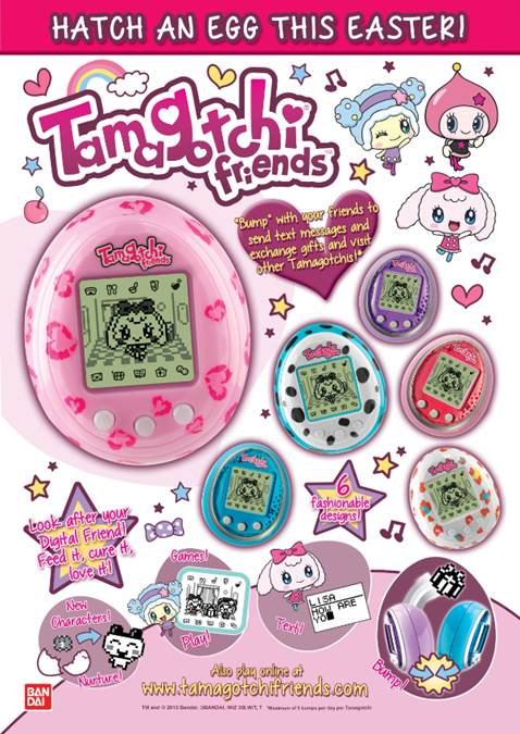 Easter Tamagotchi Friends Offer