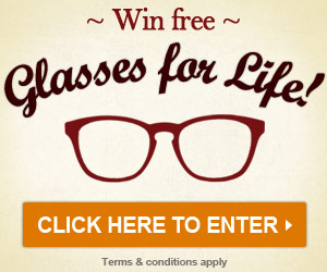 Win Free Glasses for Life with SelectSpecs
