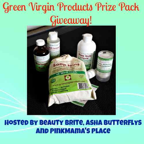 Win over $60 of Green Virgin Products US Giveaway