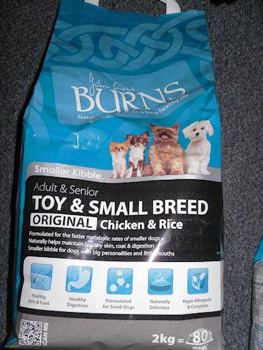 Burns Pet Nutrition Dog Food
