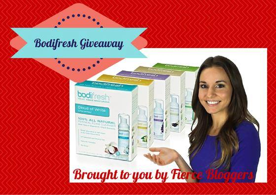 Bodifresh US Giveaway