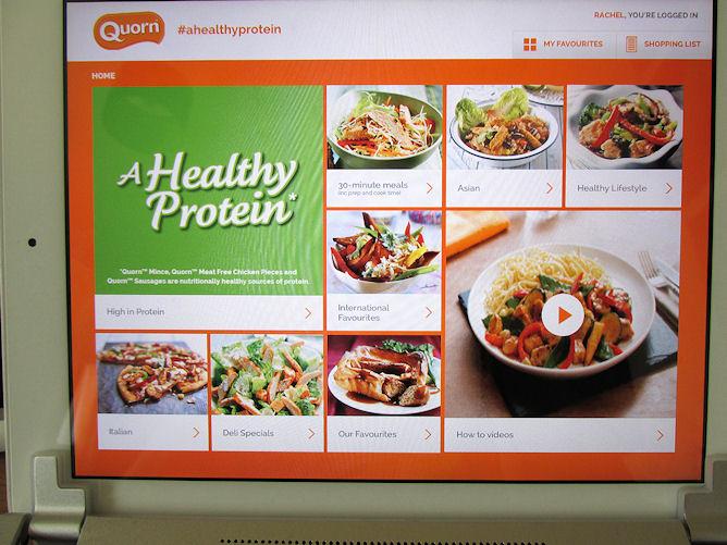 Quorn UK App