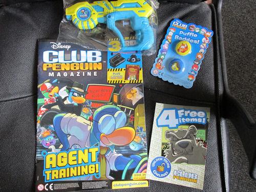 Club Penguin Frozen Party & Magazine