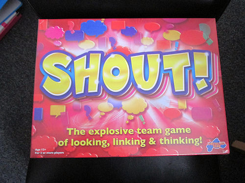 SHOUT! Game Review & Giveaway