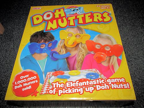 Doh-Nutters Game