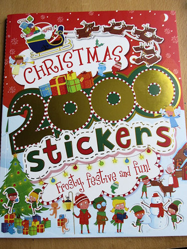 Christmas 2000 Stickers Activity Book