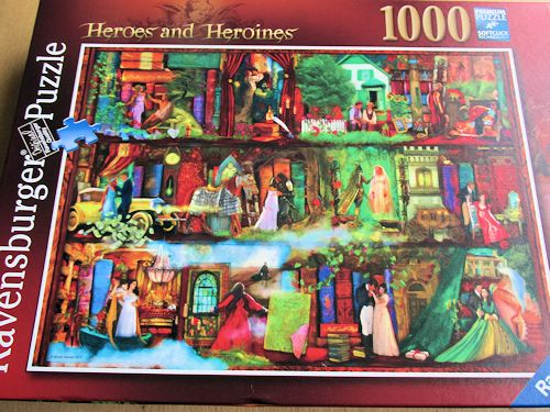 Ravensburger Heroes and Heroines 1000 Piece Puzzle