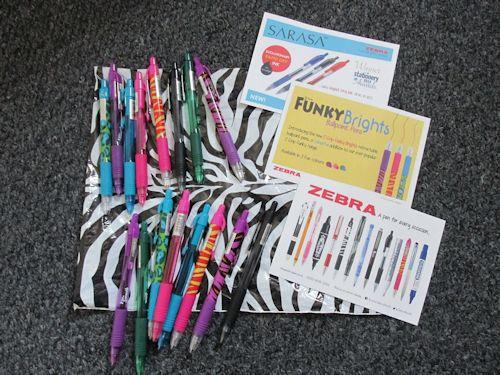 Zebra Pens  #GetBritainWriting