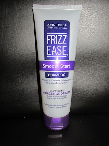 John Frieda Frizz Ease  Smooth Start Shampoo & Conditioner