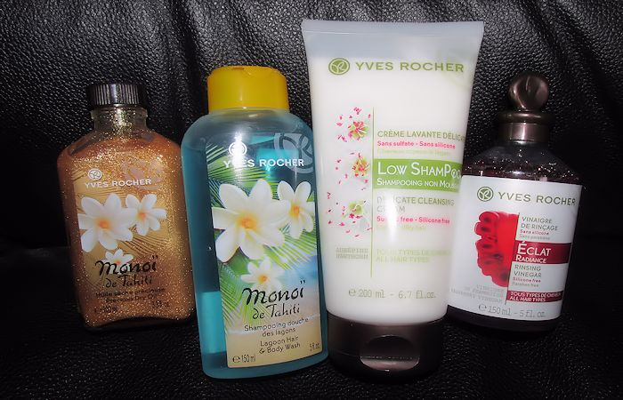 Yves Rocher Hair and Skin Products