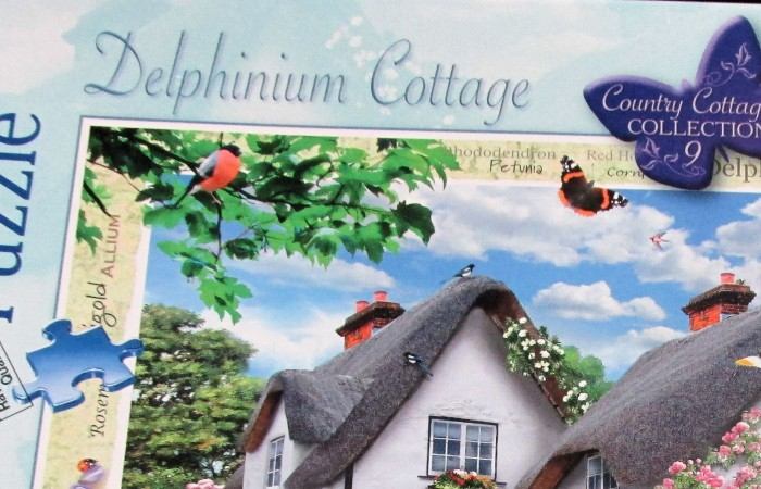 Delphinium Cottage 1000 Piece Jigsaw from Ravensburger