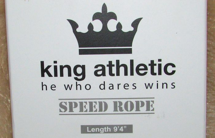 King Athletic Speed Rope #KingAthletic