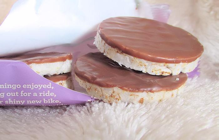Kallø Kids Milk Chocolate Rice Cake Minis