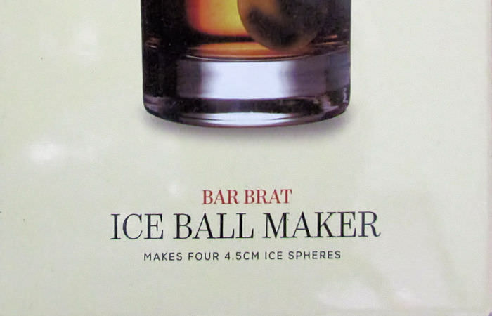 Ice Ball Maker from Bar Brats #BarBratIceBallMaker