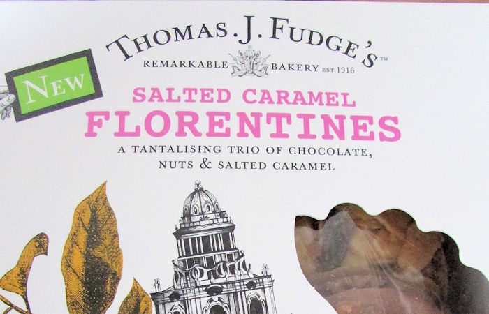 Thomas J Fudge's Salted Caramel Florentines