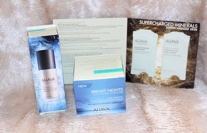 Ahava Bright Nights Night Mineral Makeover Package