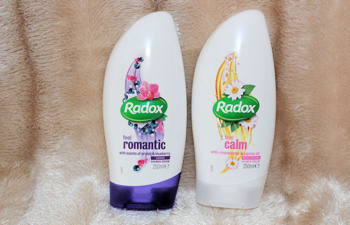 Radox Shower Cream