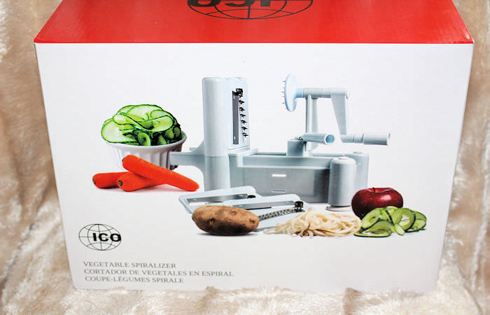 ICO Spiralizer – Great way to get kids to eat their veg! #ICOSpiralizer