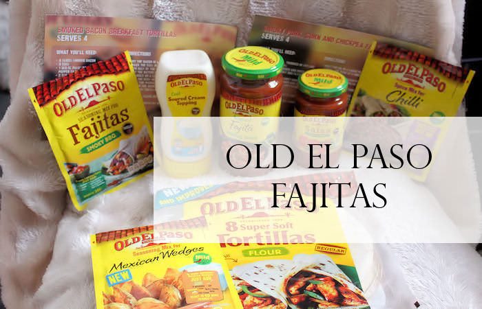 Old El Paso Fajitas & Mexican Wedges