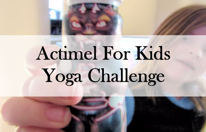 Actimel For Kids Yoga Challenge