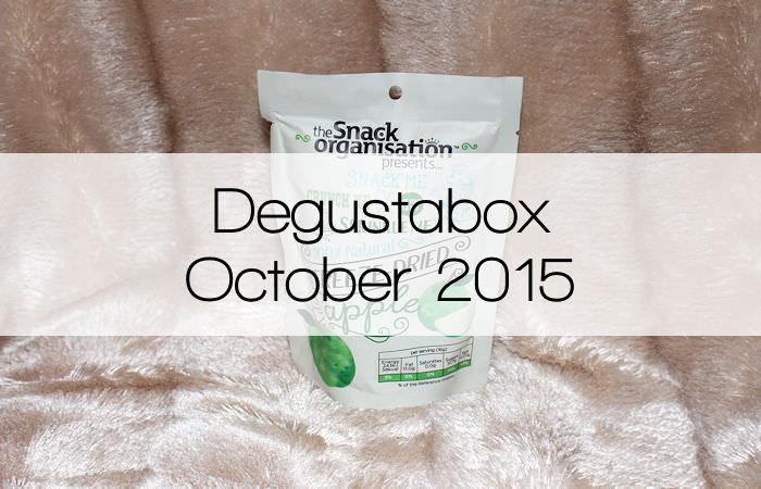 Degustabox |October 2015