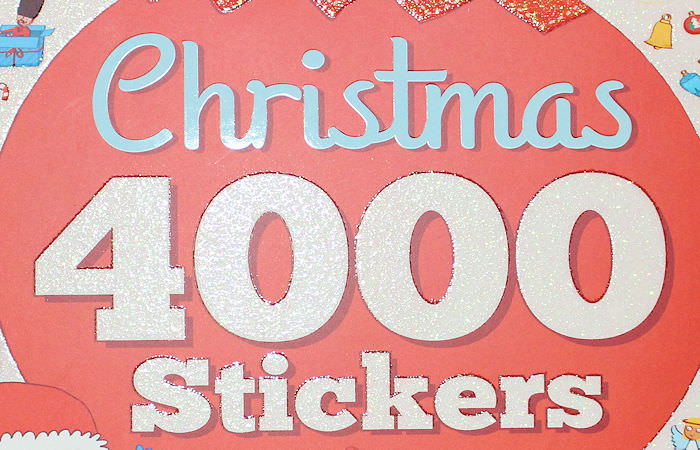 Christmas 4000 Stickers Bumper Activity Book