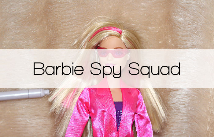 Barbie Spy Squad Secret Agent Doll