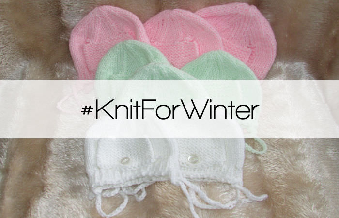 Knitting for charity #KnitForWinter