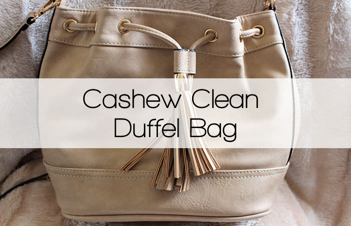 Miss Selfridge Cashew Clean Duffel Bag from House of Fraser