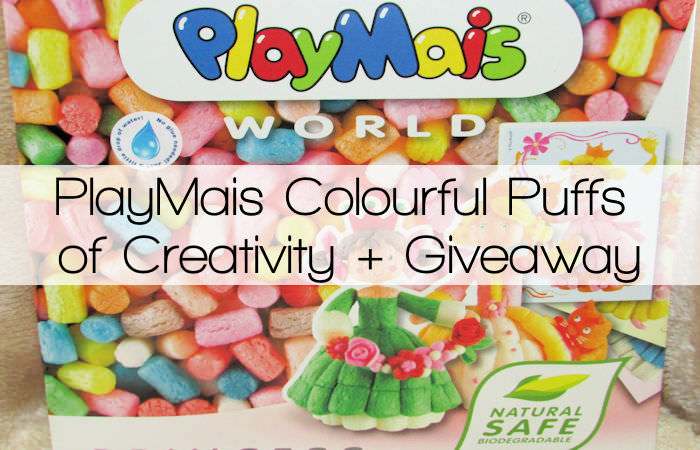 PlayMais Colourful Puffs of Creativity + Giveaway