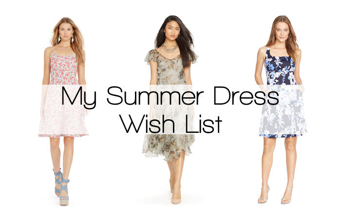 My Summer Dress Wish List