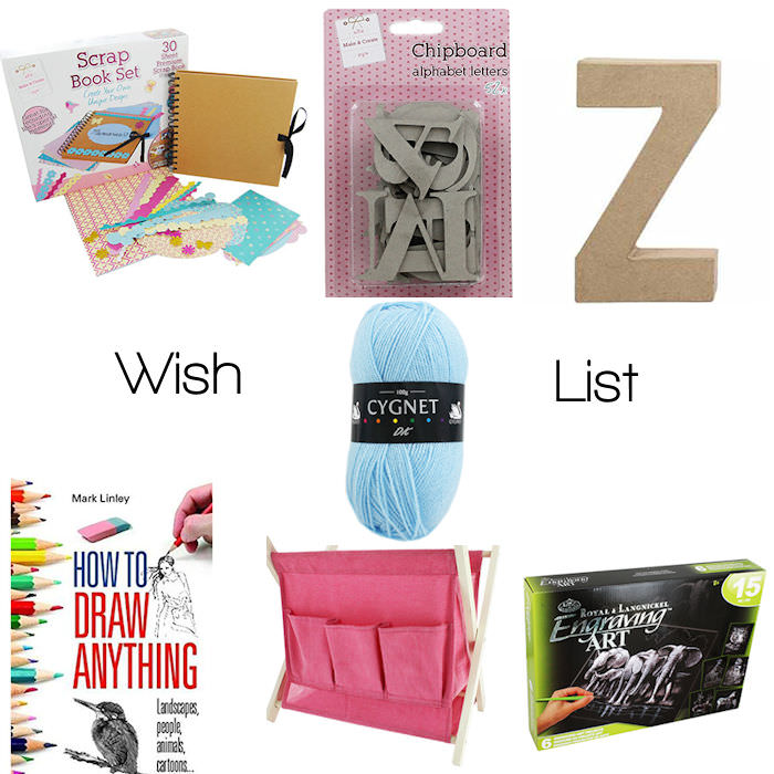 craft wish list