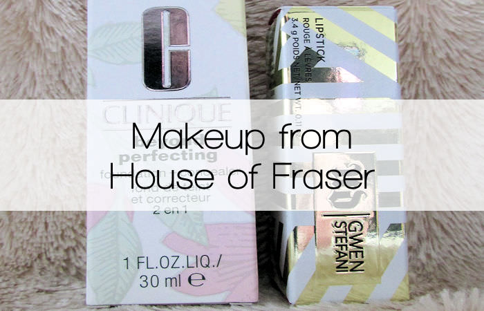 Makeup from House of Fraser